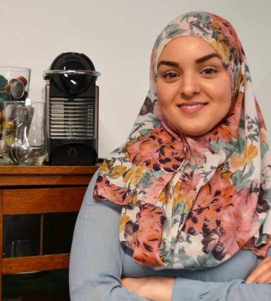 Nadia Zaabat-Kaddouri – Secretarieel medewerker
